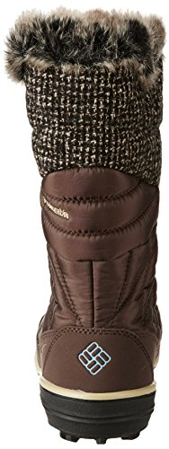 Columbia Heavenly Omni-Heat Knit, Stivali da Neve Donna Marrone (Tobacco, Dark Mirage 256tobacco, Dark Mirage 256)