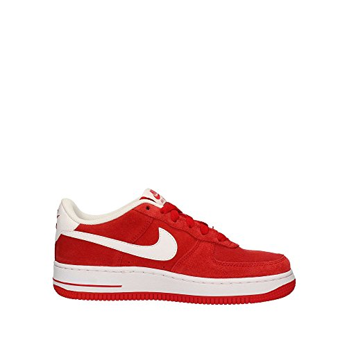 Nike Air Force 1 University Red/White (Big Kid) (6 M US Big Kid)