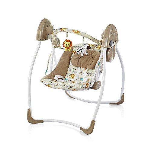 Chipolino CHIPELC01401LIO Elektrische Babyschaukel Comfort L/öwen gelb