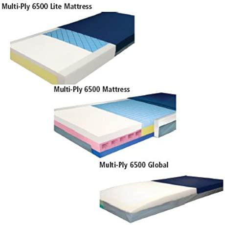 Multi Ply Mattresses Series 6500 Variable Density Sleep System Multi Ply 6500 36 X 84 X 6