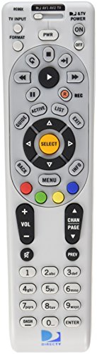 DIRECTV Rc66X Ir Remote Control - Universal Programmable 4-Device for H24 H25 Hr24 with Xmp (+ All Irs), Batteries, Labels