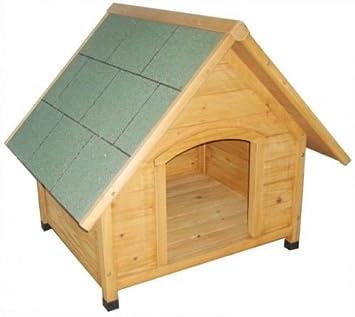 Caseta para perros, Hogar, Jardín cabaña para el perro de madera: Amazon.es: Productos para mascotas