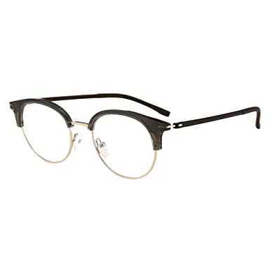encontrar mano de obra gran venta comprar oficial Hibote Hombres Mujeres Gafas redondas - Gafas de Lentes ...