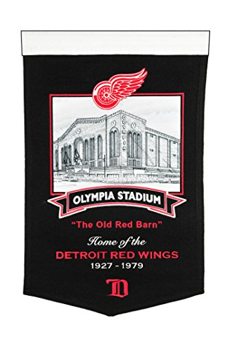 fan products of Detroit Red Wings Olympia Stadium' Banner