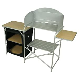 10t Outdoor Equipment 10T Kitchenette Armario de camping, Plateado, Estándar