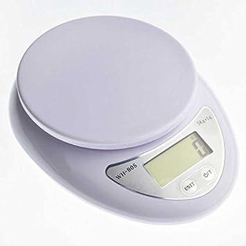 Bascula de Cocina Digital Electronica Desde 1gr hasta 5000gr 5kg Pilas Incluidas: Amazon.es: Hogar