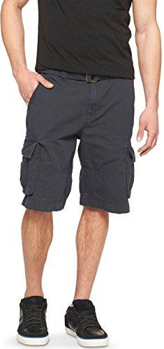 Masked Brand Mossimo Men's Belted Cargo Shorts (Black, (Mossimo Black Belt)