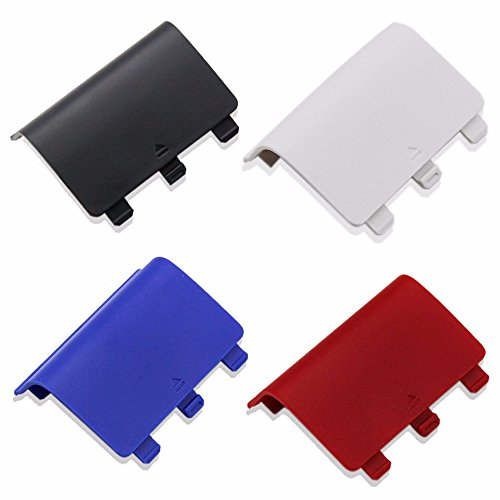 Pca Cover - 4 PCS Battery Back Cover Pack For Xbox One Wireless Controller