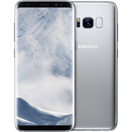 Samsung Galaxy S8 SM-G950N 64GB Korean Unlocked International Version, No Warranty in the USA, GSM ONLY, NO CDMA (Arctic Silver)
