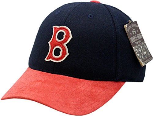 American Needle Boston Red Sox Hat Buckle Back Lefty 2-Tone (Red Sox American Needle)