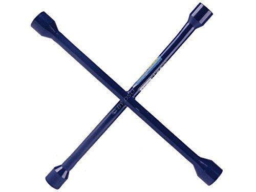 Quality 14 inch Cross Wheel Nut Wrench Brace 17-19-21-23mm AU162 ToolZone