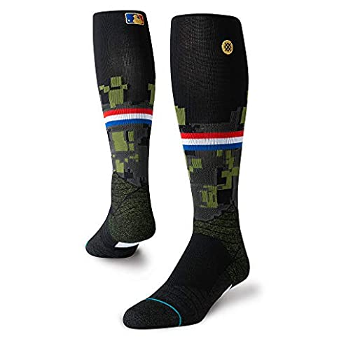 - 41tBYZwQhTL - Stance Men's Diamond PRO STIRRUP Over the Calf Socks