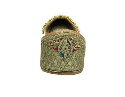 Jutti Shoe Traditional Step Footwear Wedding Punjabi Ethnic Pakistani n Style Ladies SSzOIZ