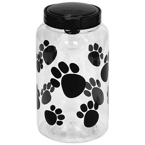 Snapware Airtight Food Storage Pet Treat Canister, Large, Pack of 1 ()