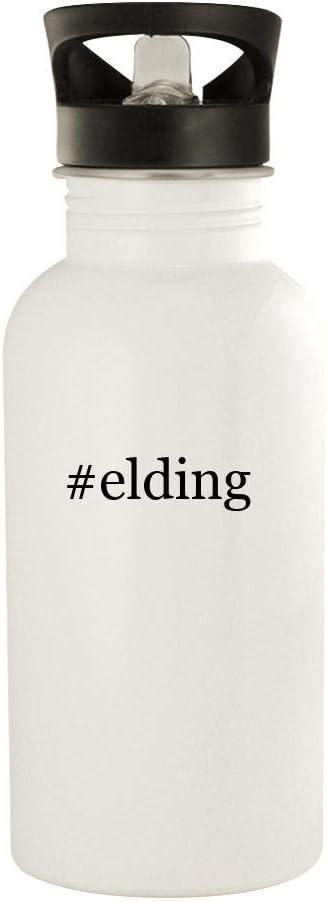 #elding - 20oz Stainless Steel Water Bottle, White 41tBZ-5U-BL