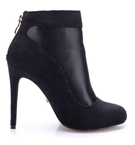 Klassische Schuhtempel24 Damen Schuhe Stiefeletten Stiefel 8On0wPkX