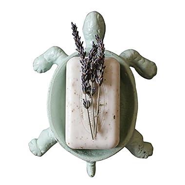 Aqua Craft Cast Iron Turtle Soap Holder