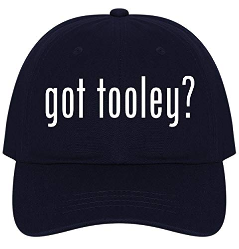 (The Town Butler got Tooley? - A Nice Comfortable Adjustable Dad Hat Cap, Navy)