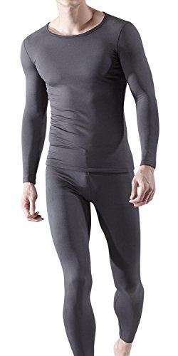 bu-mhs100-gry-large-tesla-blank-mens-microfiber-fleece-lined-top-bottom-set-mhs100