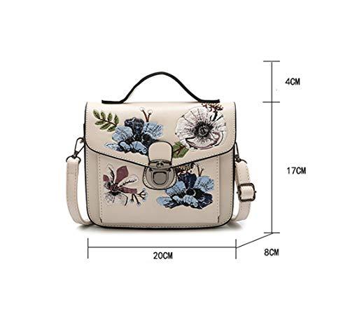 Soul mano Crossbody Jamie donna PU tracolla Fashion a retr Borse in Bag impermeabile tracolla studente Borsa ricamo da tracolla Borsa Borsa a Borse da a a 8nwOvm0yN