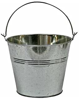 5 Gallon Metal Bucket | Metal Bucket With Lid | Lug Covers