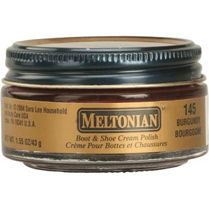 Meltonian Shoe Cream, 1.55 Oz, Burgundy