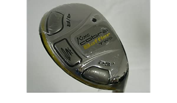 Amazon.com : Cobra King Baffler TWS 4/R Hybrid Rescue 23 (Aldila DVS-HL, Stiff) Golf Club : Golf Hybrid Woods : Sports & Outdoors