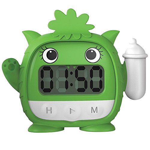 Milk Monster Baby Milk Timer (Green)