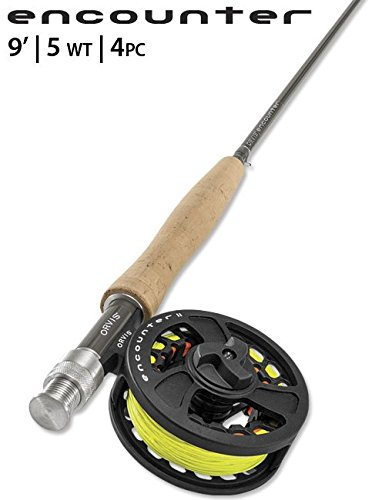 Orvis Encounter 5-Weight 9' Fly Rod Outfit (Best Budget Fly Rod Combo)