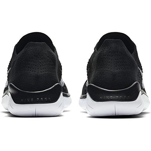 Run 2018 Black Flyknit Scarpe Uomo Nike Free Laufschuh White Running da qfwEIag