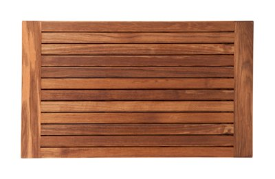 Plantation Teak Mat with Side Edges Finished (30'' x 18'') by Teakworks4u