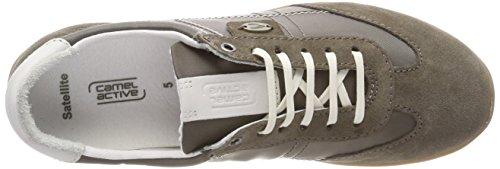 Camel Active Satellitare Damen 70 Sneaker Grau (taupe / Bianco)