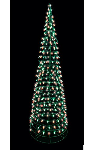 Red C5 Led Christmas Lights in US - 8