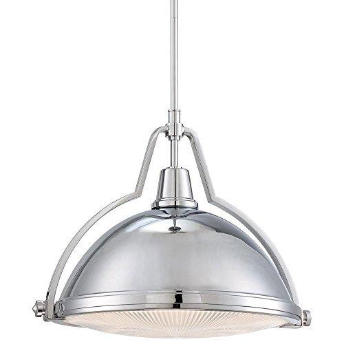 Minka Lavery 2253-77, Pendant Bowls Bowl Pendant, 1 Light, Chrome by Minka-Lavery [並行輸入品] B018A30MU6