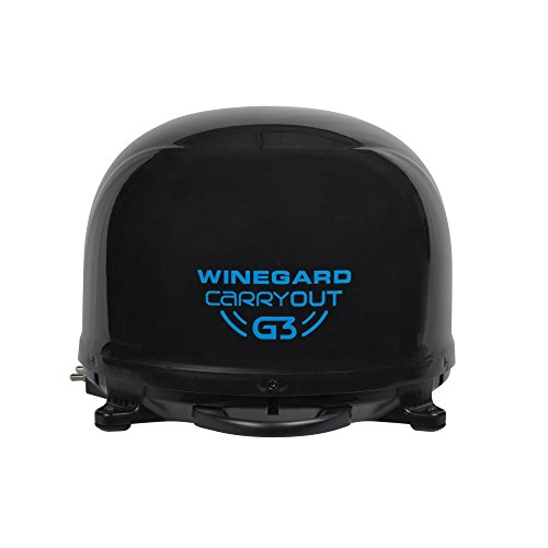 Winegard GM-9035 Black Carryout G3 RVSatellite Antenna