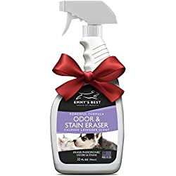 Emmy's Best Powerful Pet Odor Remover Color Saver and Urine Eliminator Deodorizer Exclusive Enzyme Cleaner Solution Takes Out Tough Stains, Odors.