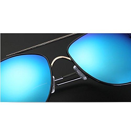 A Hipster Mirror Square HGyanjing Hommes polarisées Mode pour Chaude Lunettes de Sunglasses Mirror de Lunettes A Lunettes Couleur Conduite Soleil Driver Sunglasses IqRS8