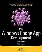 Pro Windows Phone App Development, 3rd Edition Front Cover