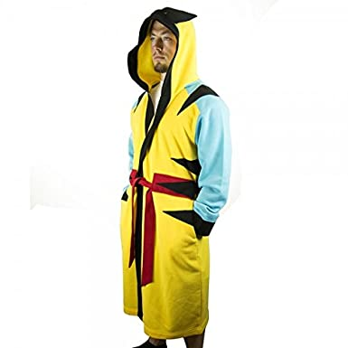 Marvel Wolverine Hooded Character Robe with Belt S/M