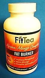 Amazon Com Fit Tea Fat Burner African Mango Complex
