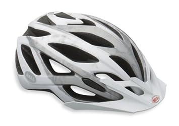 Bell Sequence casco de bicicleta de montaña, color Matte White/Silver Logos, tamaño