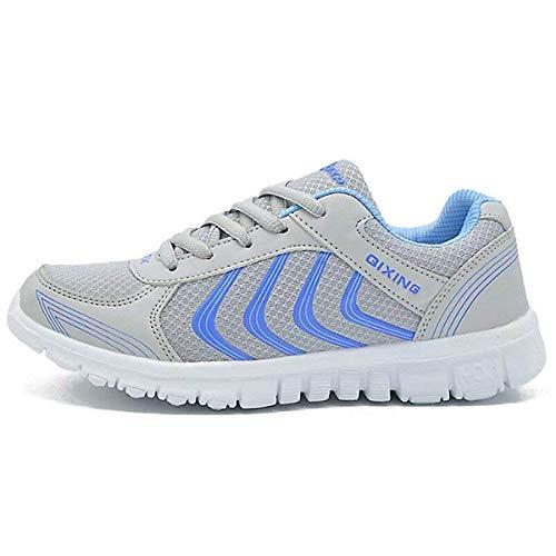 Outdoor de Gris de Respirant Multisports Sneakers Hommes Sport Course athlétique Femme CHNHIRA Chaussures Running Hw1UxU
