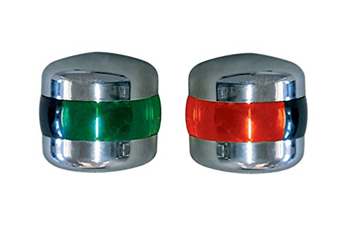 Aqua Signal Port/Starboard Navigation Lights Vertical Mount (Pair)