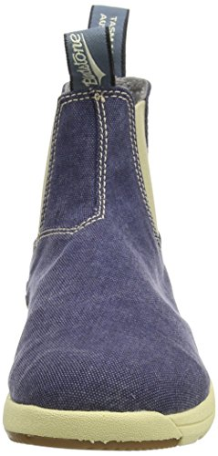 Blundstone Canvas, Unisex-Erwachsene Kurzschaft Stiefel Blau (Blu Navy)