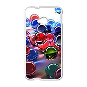 Colorful transparent Ball personalized creative custom protective phone case for HTC M7