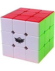 Magic Cube 3x3x3 Stickerless Speed Puzzle Cube (56mm)