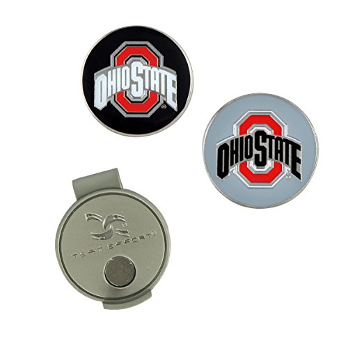 Team Effort Ohio State Buckeyes Hat Clip & 2 Ball Markers
