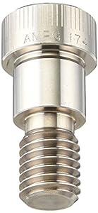 "17-4 PH Stainless Steel Shoulder Screw, Socket Head Cap, Hex Socket Drive, Standard Tolerance, Meets ASME B18.3, 4-40 Thread Size, 1/8"" Shoulder Diameter, 1/2"" Shoulder Length"