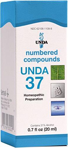 UNDA - UNDA 37 Numbered Compounds - Homeopathic Preparation - 0.7 fl oz (20 ml) ()