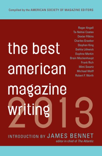 The Best American Magazine Writing 2013 (Best Digital Art Magazines)